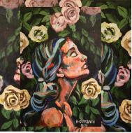 Wall art, Young girl