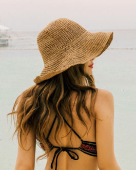 Elegant Summer Women Hats Collapsible Sun Beach Panama Straw hat