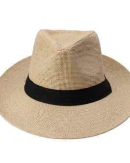 Hot  Fashion Summer Casual   Hat Panama Hat Paper Straw Women Men Cap