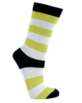 Lighthouse Lime Socks by Manifest (1 pair)